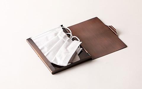 純銅携帯ケース(マスクケース)